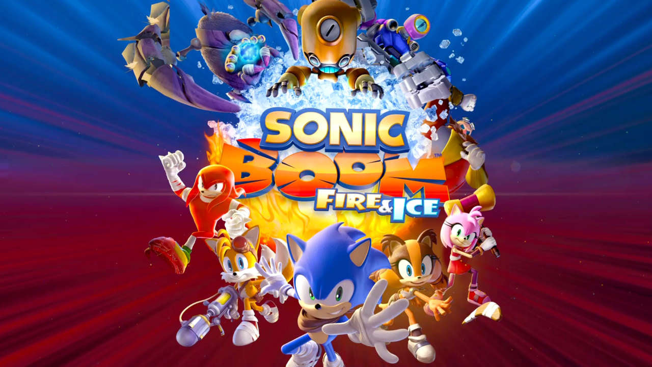 Resultado de imagem para Sonic Boom: Fire & Ice
