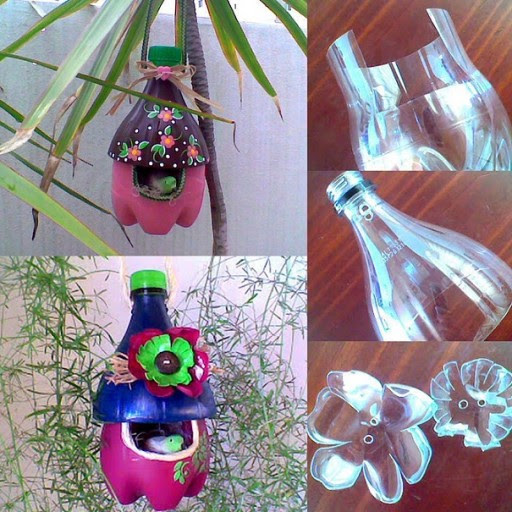 How To Make Plastic Bottle Bird Nests | How To Instructions