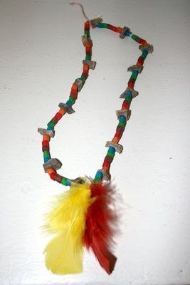 Thanksgiving - Native American necklace