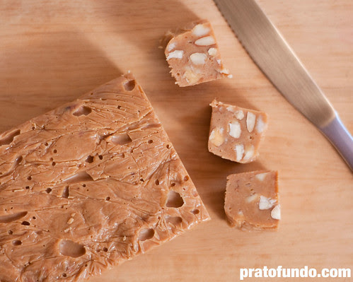 Fudge de Chocolate Branco Caramelizado