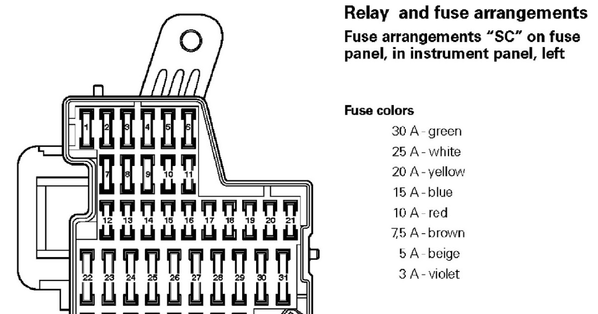 [DIAGRAM] 2008 Vw Eos Fuse Box Diagram FULL Version HD
