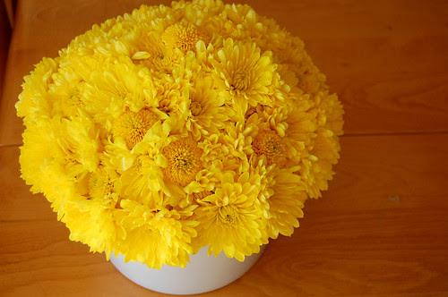 flower arrangements, finished
