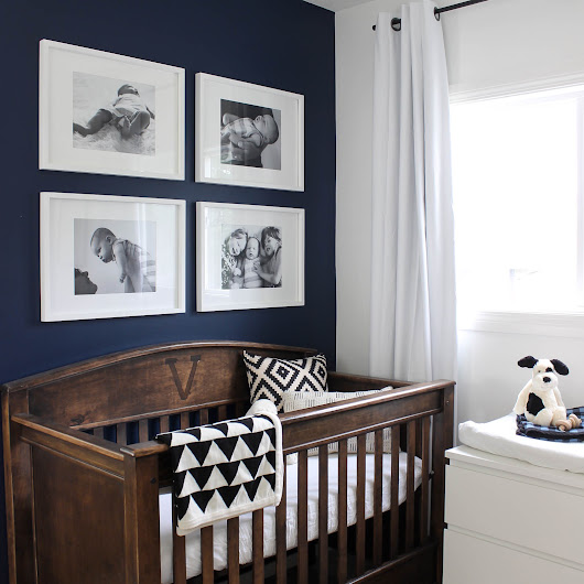 A Small Modern Nursery: My Colour Journey with Para Paint - Love Create Celebrate