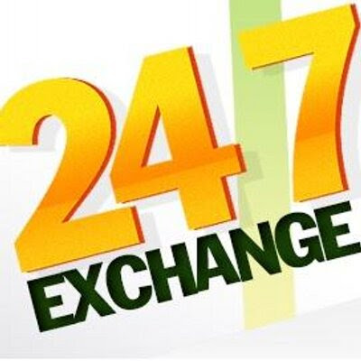 247 exchange on Twitter