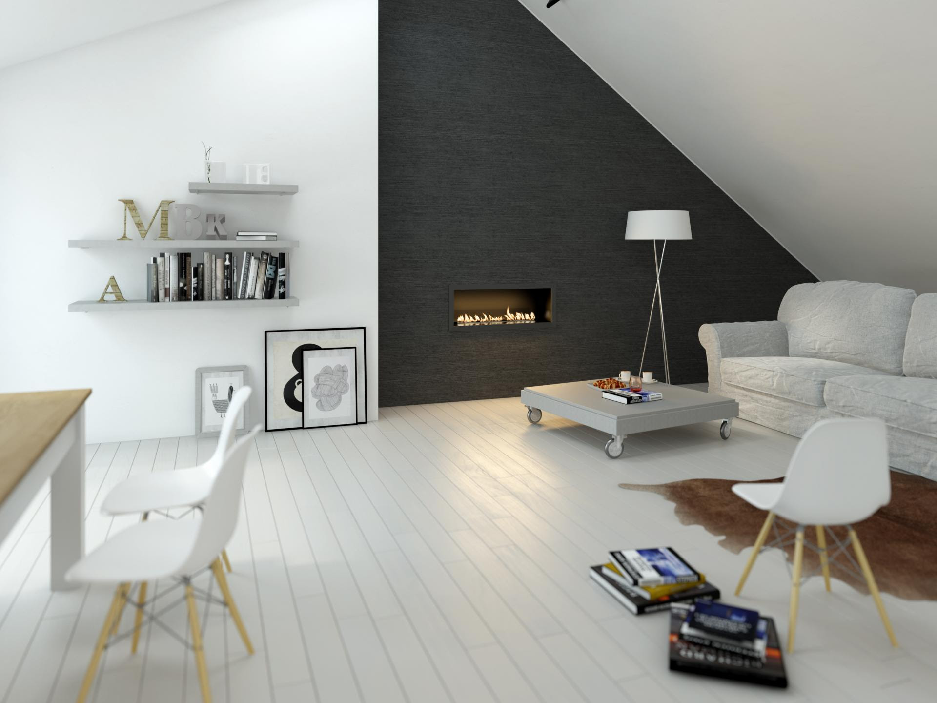 25 Attic Living Room Ideas 19