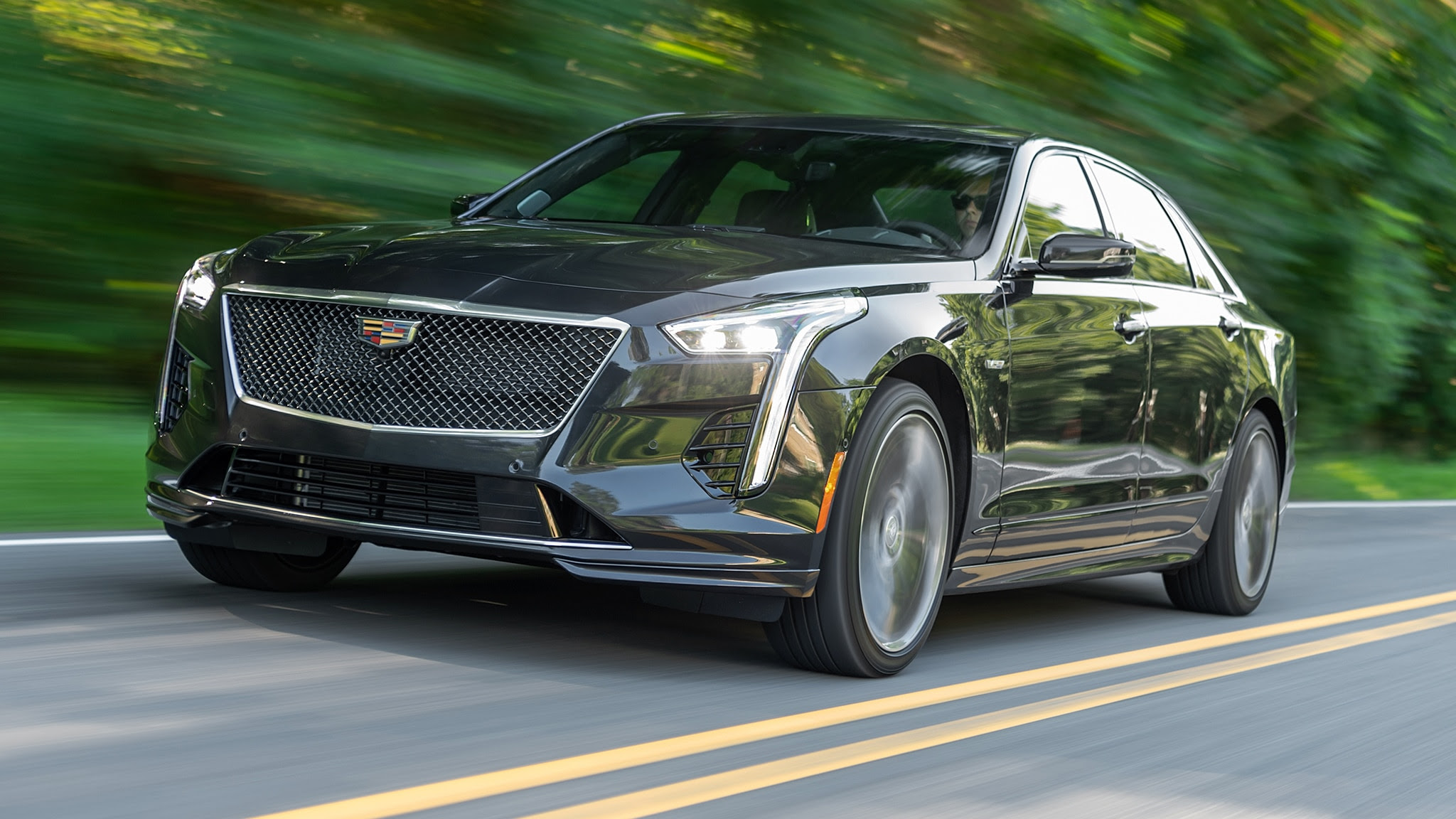 2019 cadillac ct6v first drive review positively sublime