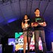 Event Hosts Tracy Abad and Vince Golangco