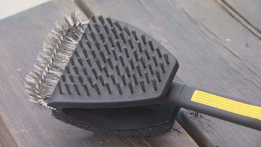Toss BBQ brushes before bristles get stuck in your throat, surgeon urges