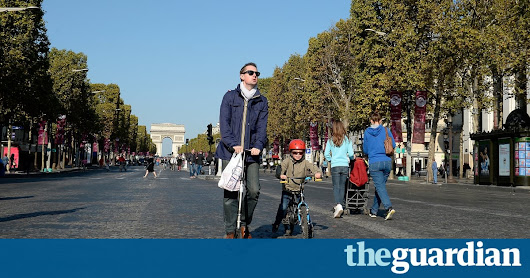 Paris mayor unveils plan ​to restrict traffic and pedestrianise city centre | World news | The Guardian
