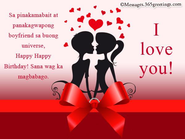 Birthday Needs For Boyfriend Romantic Tagalog Corrinne