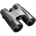 Bushnell 141042 Powerview Binocular 10X 42 Compact Roof Prism Black Rubber