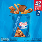 Chex Mix Varieties, Traditional, 1.75 oz Pack, 42-carton