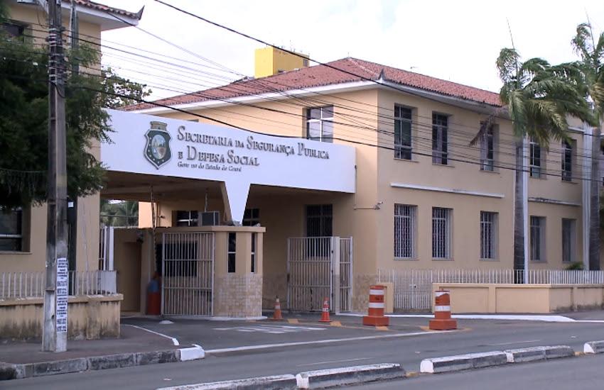 Secretaria de Segurança Pública disponibiliza canais para denúncias(FOTO: Reprodução TV Jangadeiro)