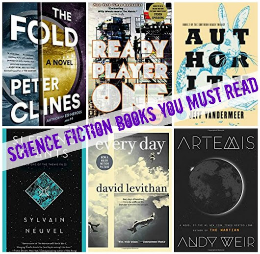The BEST Science Fiction Books you'll want to read this year