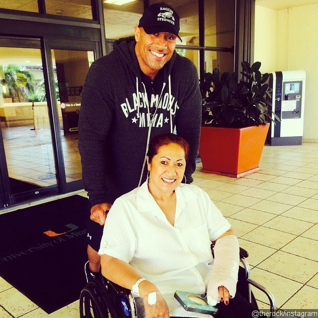 Dwayne 'The Rock' Johnson's Mother Is Out of Hospital Following Car Accident