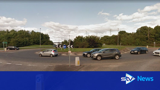 Cyclist seriously hurt in smash with van at roundabout