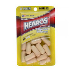 Hearos Ultimate Softness Series Ear Plugs, High Protection, 6 Pairs