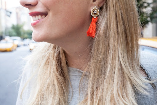 DIY: Frieda & Nelly inspired Tassel Earrings.