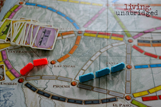 52 Family Game Nights: Ticket to Ride - Living Unabridged