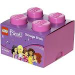 LEGO Storage Brick 4, Bright Purple (Friends)
