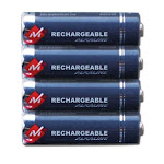 Serene Innovations 4a-batt CentralAlert Notification System Rechargeable Batteries