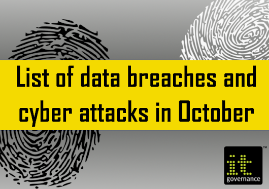 List of data breaches and cyber attacks in October 2018 - 44,701,278 records leaked - IT Governance Blog