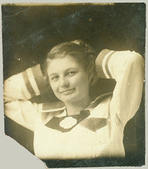 Girl in sailor suit