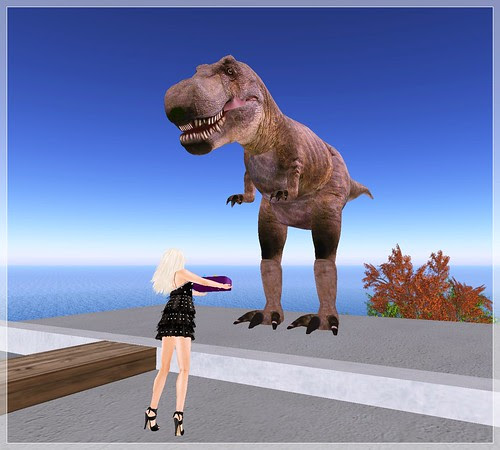 Dino want some food?