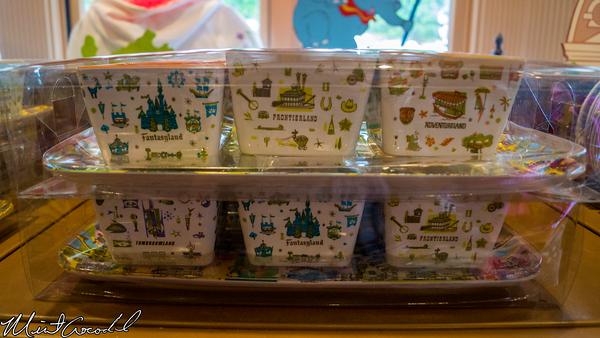 Disneyland Resort, Disneyland, Retro, Design, Dish