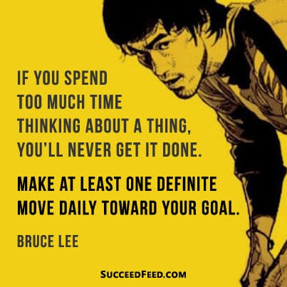 The Best 20 Bruce Lee Picture Quotes Succeed Feed
