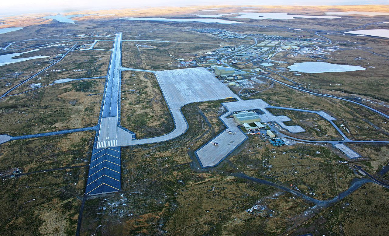 Resultado de imagem para aeroporto ilhas malvinas