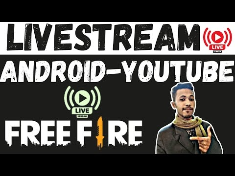 HOW TO LIVESTREAM FREE FIRE ON YOUTUBE - Like TOTAL GAMING - Free Fire Live Kaise Kare Mobile Se