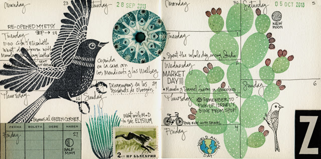 Journal pages Sept/Oct '13