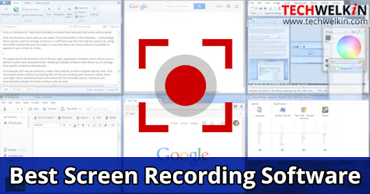 Best Screen Recorder Software: Both Free and Paid