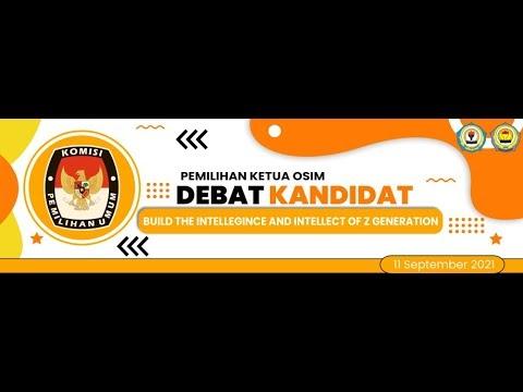 DEBAT KANDIDAT KETUA OSIM MAN 2 PONOROGO 2021/2022