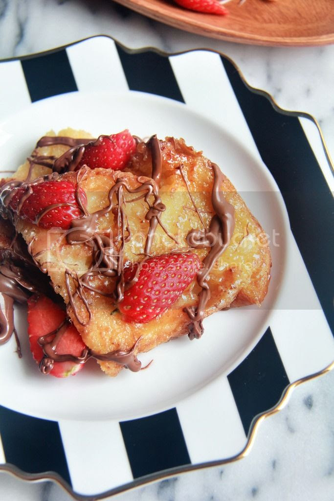 breakfast / dessert - sugar-crusted french toast