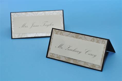 Special Edition Make it Pretty: DIY Place Cards and Table