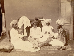 Tailors at work, Madras
