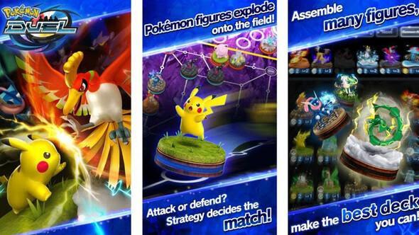 Yeni bir oyun daha: Pokemon Duel