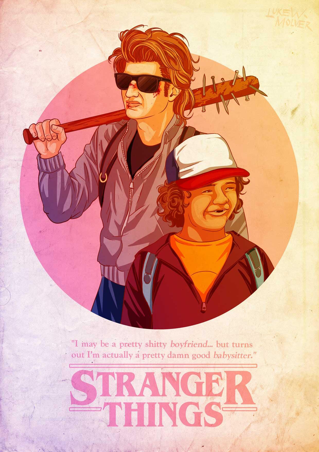STRANGER THINGS / Fan Art #1 « Luke Molver - Illustrator ...