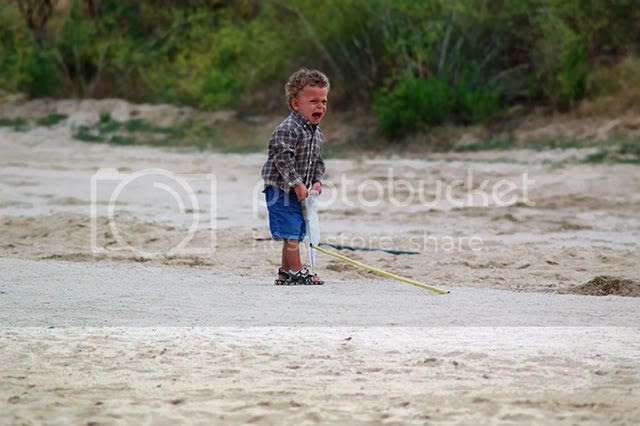 The Boy and the Fishing Net [enlarge]