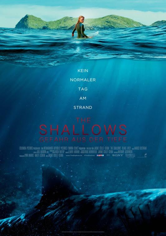 Resultado de imagem para The Shallows 2016 posters