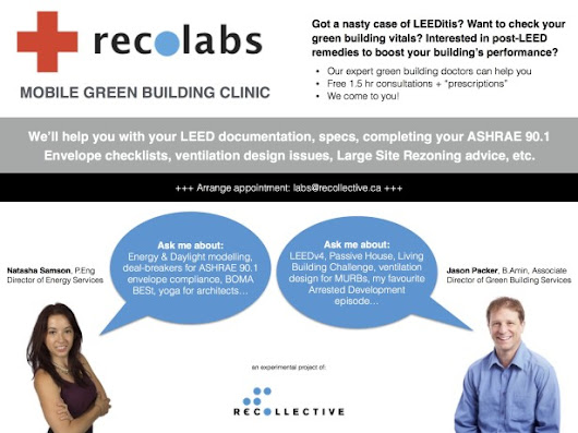 Recollective Consulting |   New Mobile Green Building Clinic: recolabs