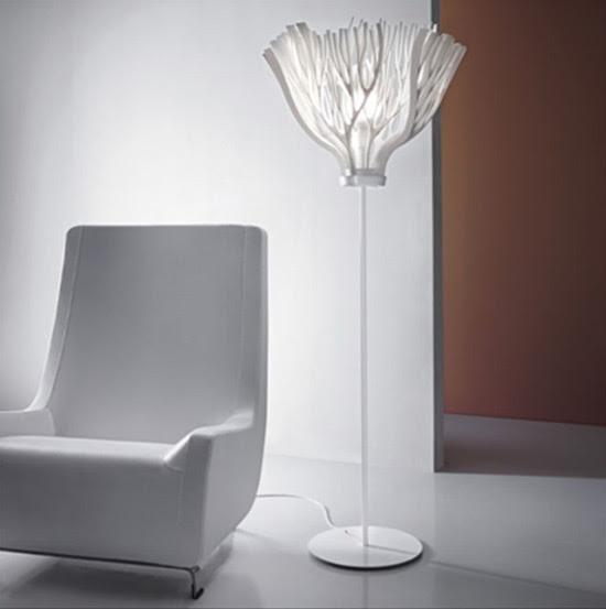 Foglie, lámpara, Matali Crasset, Decoracion, iluminacion, diseño