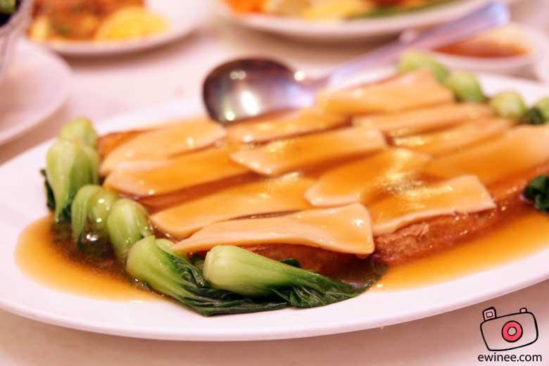 MAGIC-WOK-DAMANSARA-JAYA-Home-made-Tofu-with-abalone