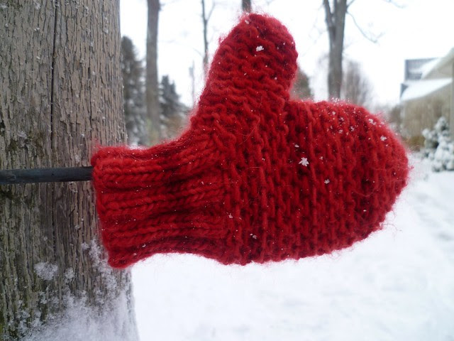 Give Thanks Mitten