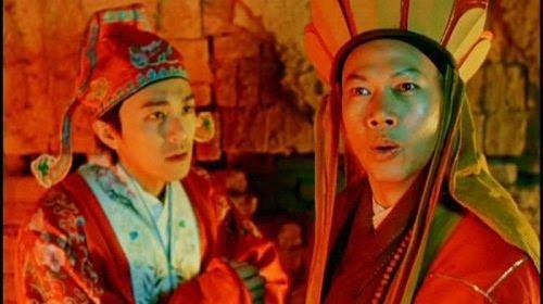 La Gia Anh đóng cùng Châu Tinh Trì trong Tây du đại thoại.