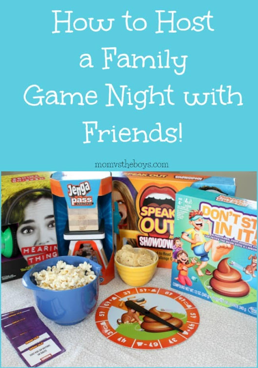 How to Host a Family Game Night with Friends and Family of all ages