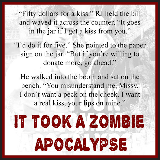 Exclusive Excerpt from It Took a Zombie Apocalypse by Jessica E. Subject @JSubject #SFR #IR #Military