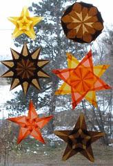 Thanksgiving Window Stars